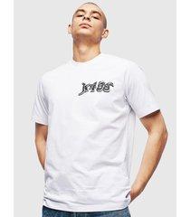 polera t just t31 t shirt 100 blanco diesel