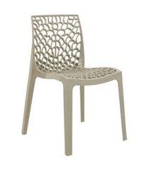 cadeira de jantar gruvyer nude