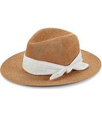 tied band panama hat