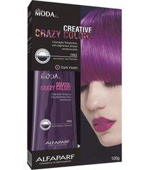 alta moda creative crazy colors 120g - dark violet