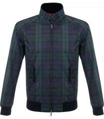 baracuta g9 blackwatch harrington jacket brcps0120