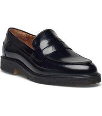 shoes a1491 loafers låga skor svart billi bi
