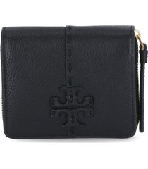 tory burch mcgraw bi-fold wallet