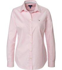blouse van gant lichtroze