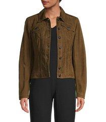 chapsmead suede trucker jacket