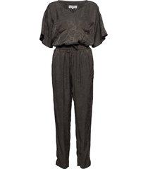 soffie jumpsuit jumpsuit svart cream