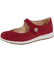 skor ströber röd