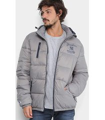 jaqueta mlb new york yankees new era puffer bomber core masculina