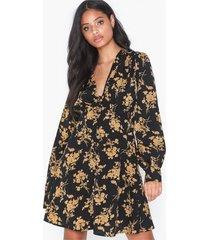 missguided floral button up mini dress skater dresses