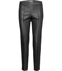 area trousers slimfit byxor stuprörsbyxor svart andiata