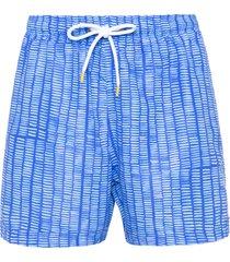 short masculino praia barras - azul