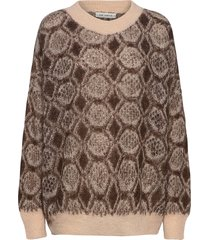 knit gebreide trui bruin sofie schnoor