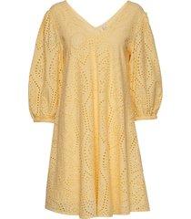 yaspenny 3/4 dress s. kort klänning gul yas