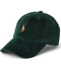 polo ralph lauren men's corduroy ball cap