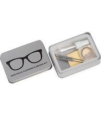spectacle eyeglass cleaning & repair metal kit