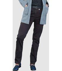 jeans mona rookblauw
