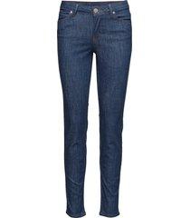 2nd sally cropped soft skinny jeans blå 2ndday