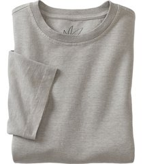 jersey t-shirt uit een mix van hennep en bio-katoen, rookblauw l