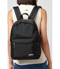 tommy jeans women's tjw campus backpack - black