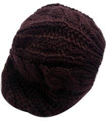 boina smm acessorios tricot marrom