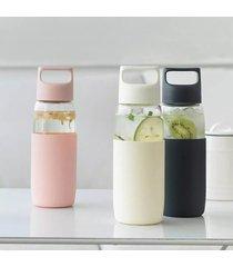 botella de agua de vidrio resistente al calor xiaomi capacidad: 500 ml