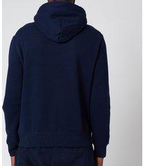 polo ralph lauren men's magic fleece polo bear hoodie - cruise navy - xxl