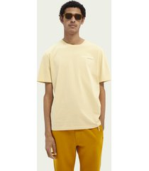 scotch & soda classic crewneck organic cotton t-shirt