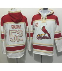 st. louis cardinals baseball hooded sweatshirt wacha molina carpenter musial