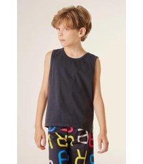 camiseta mini regata classica infantil reserva mini masculina