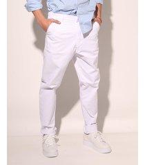 pantalon blanco prussia frank