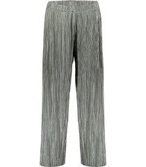 geisha 01845-99 550 broek plisse elastic waistband army