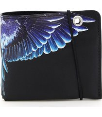 marcelo burlon chain wings wallet