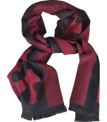 dsquared2 fringed edge scarf