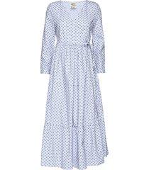 aymeline jurk knielengte blauw baum und pferdgarten