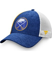 authentic nhl headwear buffalo sabres locker room trucker cap