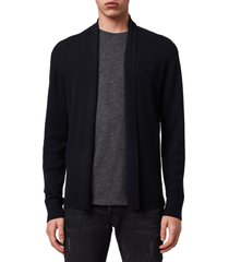 men's allsaints mode slim fit wool cardigan