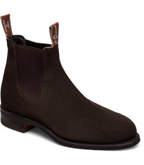 wentworth g shoes chelsea boots brun r.m. williams