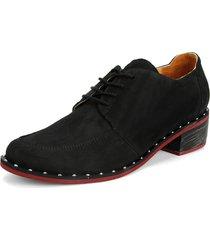 zapato 900 luz taches negro moca