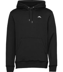 stretch fleece hoody hoodie trui zwart j. lindeberg golf