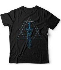 camiseta dice sword studio geek - unissex