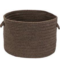 colonial mills sunbrella solid braided basket