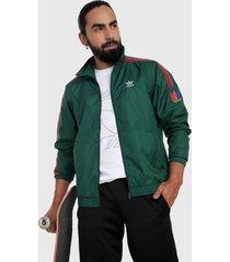chaqueta verde-rojo-azul adidas originals 3d trifolio 3 rayas
