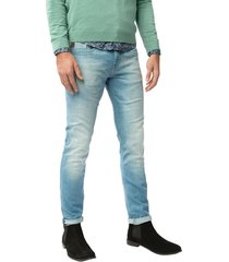 vanguard v8 racer jeans light electric blue