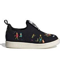 zapatilla negra adidas originals stan smith