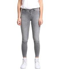 spray gfm+ grey denim jeans