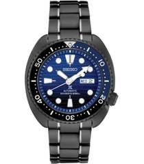 seiko men's automatic prospex black stainless steel bracelet watch 45mm, a special edition