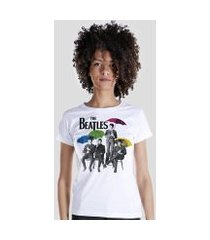camiseta bandup! the beatles umbrella colors