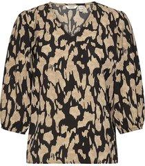 bxgalli blouse blus långärmad multi/mönstrad b.young