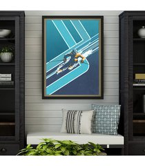 retro alpine ski - vintage plakat 50x70 cm