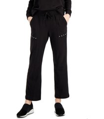 jpr studio cotton studded french terry pants